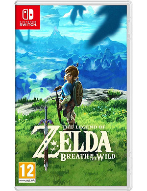 NINTENDO Zelda breath of the wild switch game