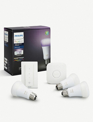 PHILIPS Hue White and Colour Ambience E27 Starter Kit
