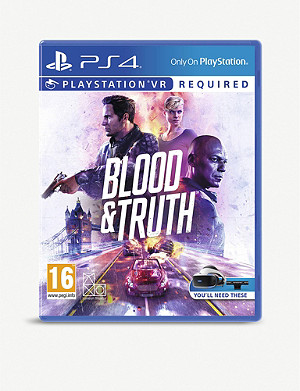 SONY Blood & Truth PSVR Game