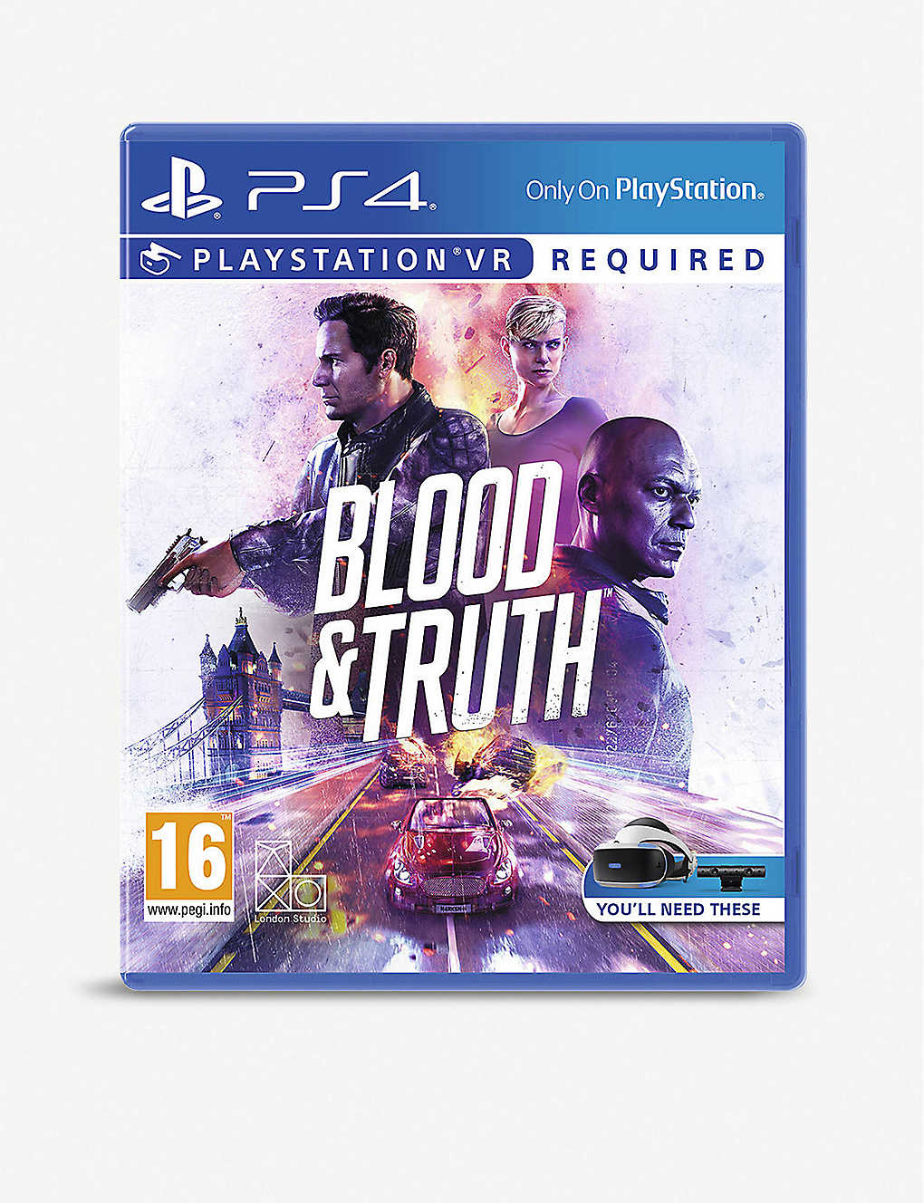 Blood & Truth PSVR Game