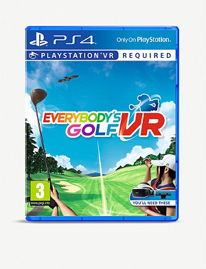 SONY Everybody's Golf VR PS4 game