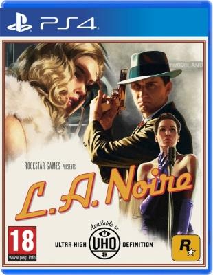 SONY La Noire ps4 game
