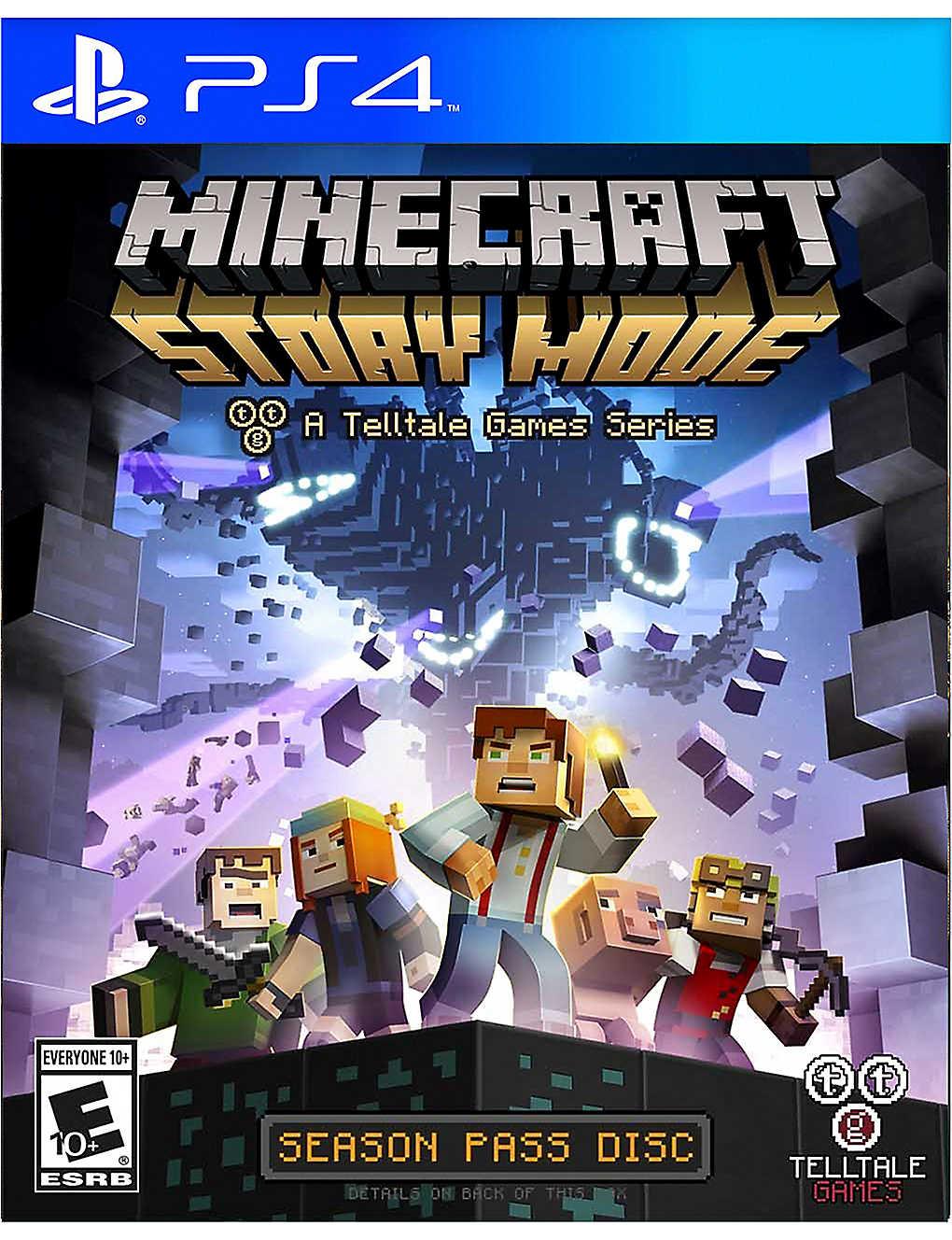 SONY - Minecraft Story Mode PS4 game | Selfridges com