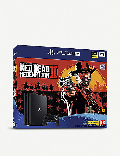 SONY Red Dead Redemption 2 PS4 Pro 1TB Bundle