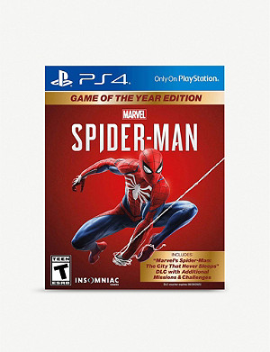 SONY Spiderman Game of the year edition PS4 game