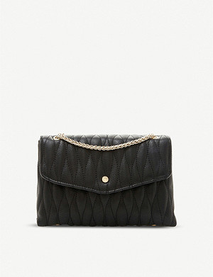 DUNE Baarry quilted clutch