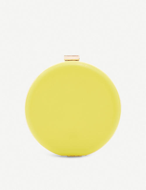 DUNE Beautey round leather clutch