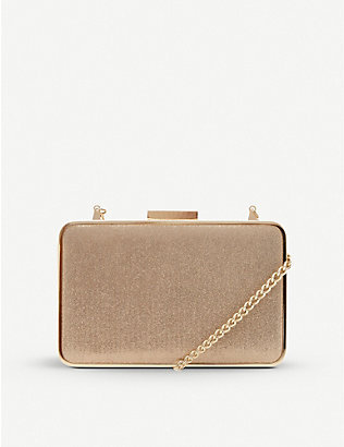 DUNE: Beaut metallic clutch