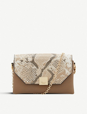 DUNE Esterr faux-leather shoulder bag
