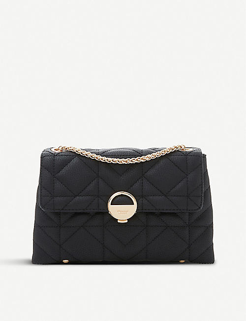DUNE Ellenour faux-leather shoulder bag
