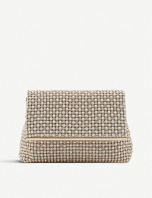 bb8ed1d40d74 DUNE Everlina diamante-embellished clutch bag