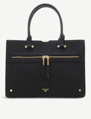 Delle Zip Detail Shoulder Bag by Dune
