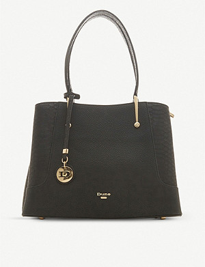 DUNE Dorriss faux-leather tote bag