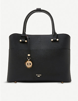 DUNE: Daring faux-leather shopper bag