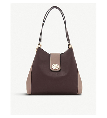 ... faux-leather hobo bag (Berry-plain+synthetic. PreviousNext 8fab6435f6b17