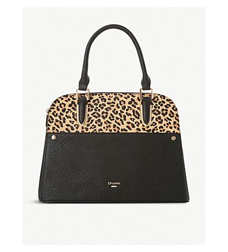 410932f82801 ... DUNE Davie leopard-print shoulder bag (Leopard-pony. PreviousNext