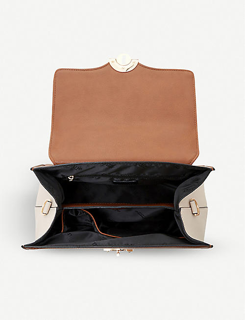 DUNE Doting faux-leather tote bag