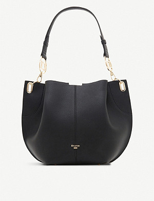 DUNE Derly faux-leather shoulder bag