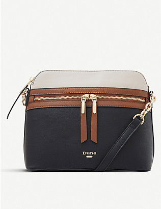 DUNE: Dolive faux-leather cross-body bag