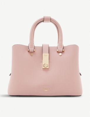 DUNE Dinidiella saffiano faux-leather tote