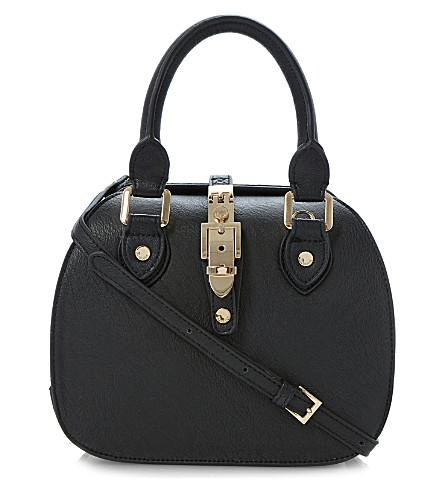 DUNE - Dinidintage faux-leather bowler bag  76f8659ec0c95