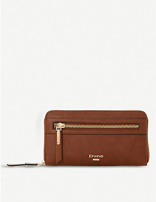 DUNE: Kelle faux-leather purse