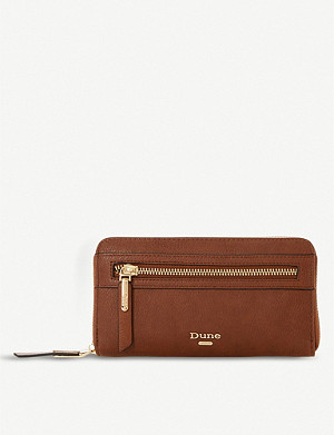 DUNE Kelle faux-leather purse