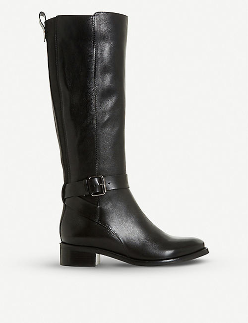 BERTIE Taykonie knee-high leather boots