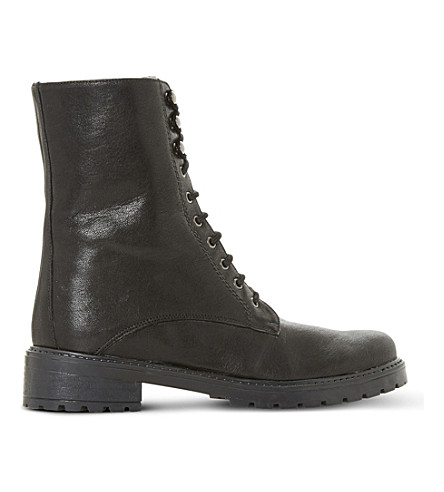 Dune RAYKO LACE-UP LEATHER BOOTS