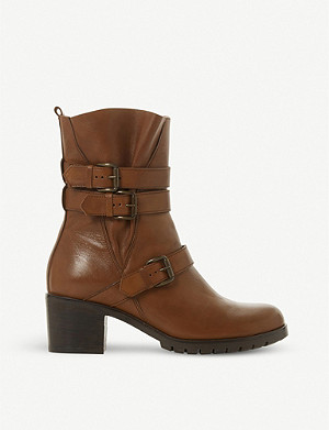 DUNE Reuben leather boots