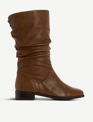 DUNE Rosalinda leather boots
