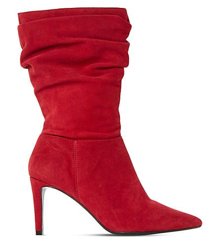 Dune Reenie suede calf boots