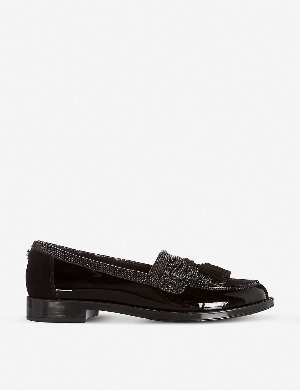 DUNE: Greatly leather and suede loafers