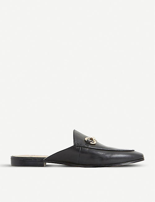 074f25e4f15870 DUNE Gene leather backless loafers