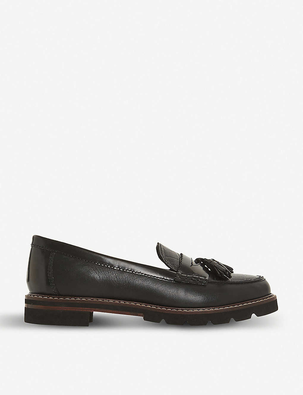 aac5c0500 DUNE - Gennia leather penny loafers | Selfridges.com