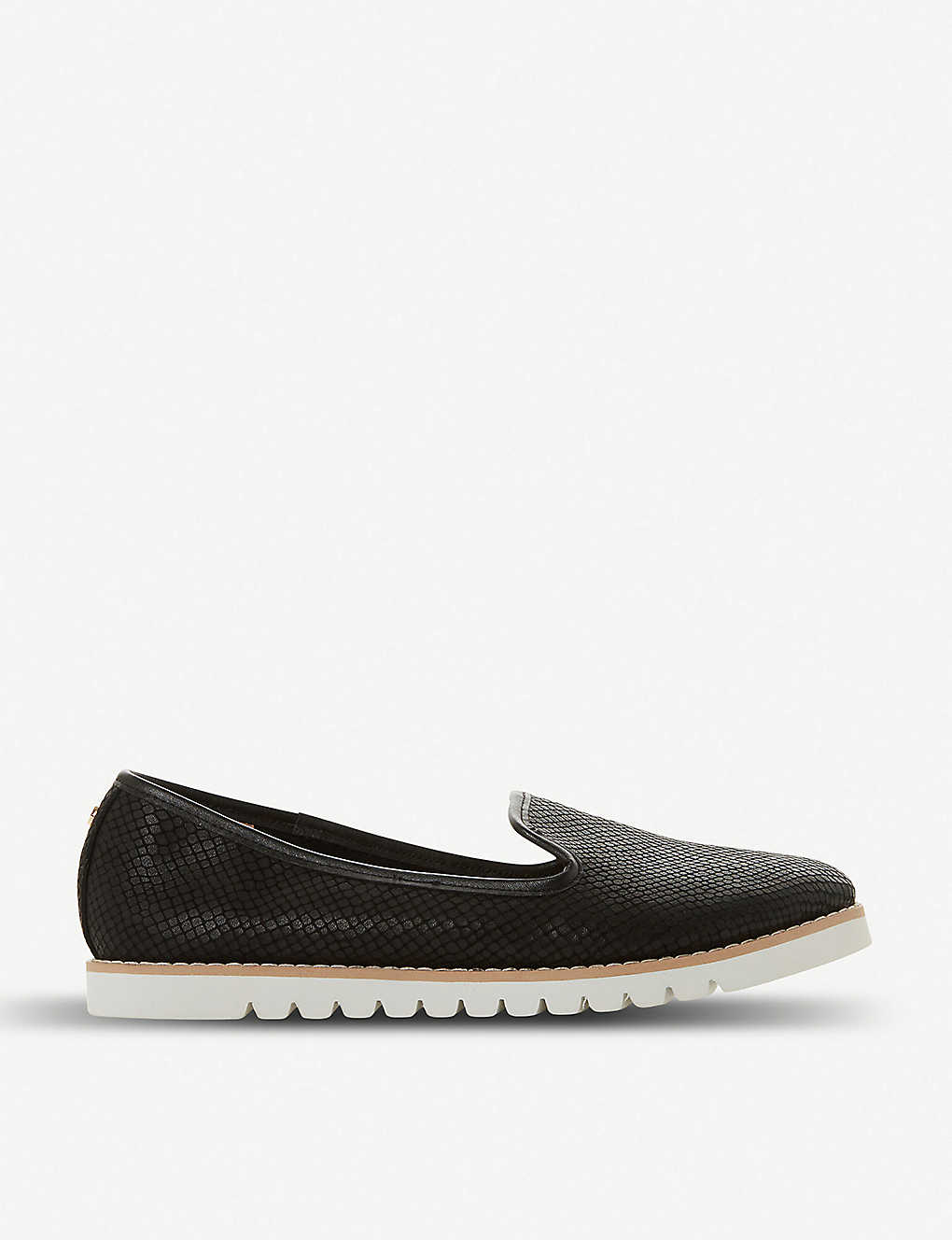 DUNE: Galleon leather loafers