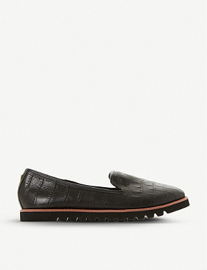 DUNE Galleon leather loafers