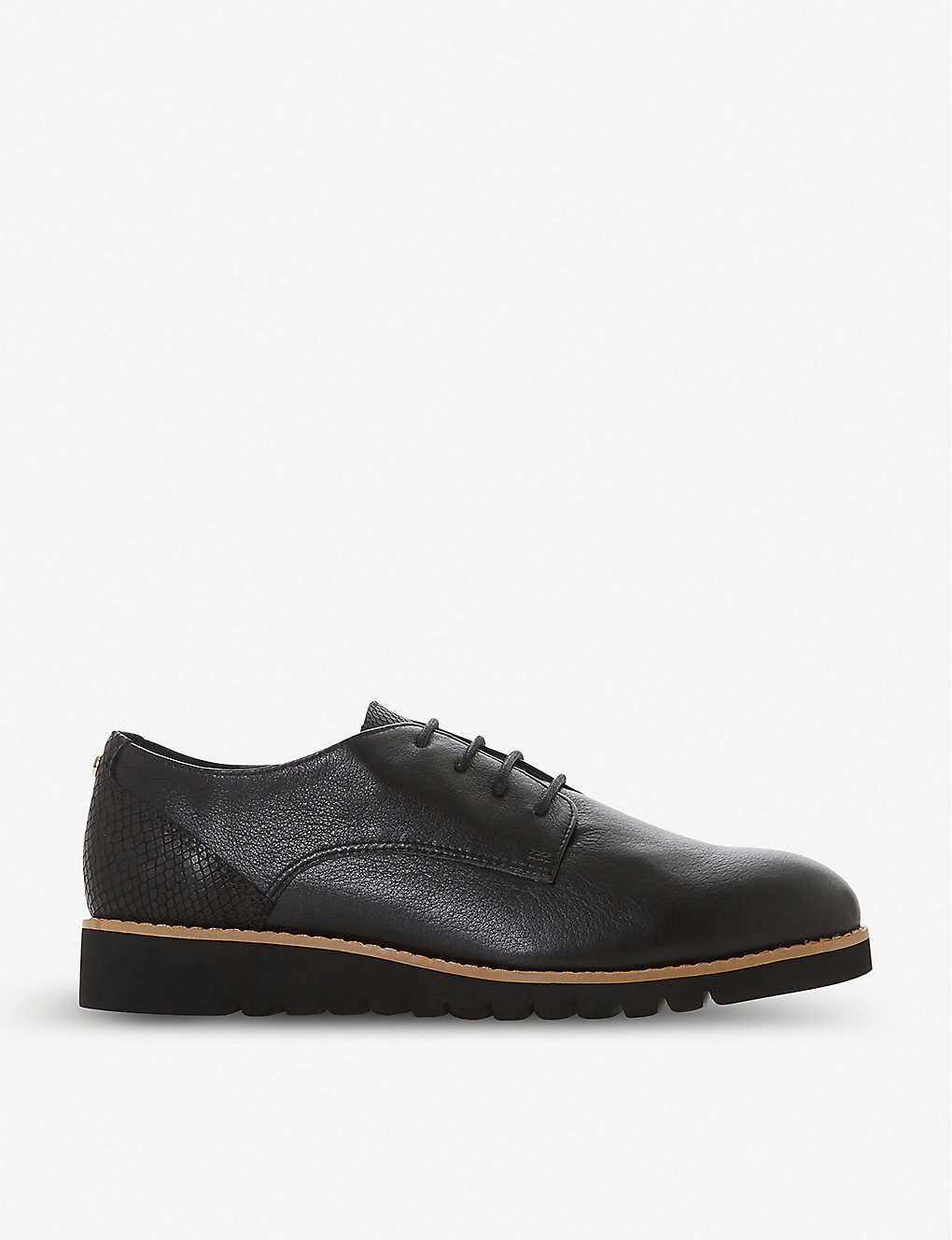 DUNE: Flinch leather Derby shoes