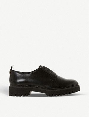 DUNE Fate leather brogues