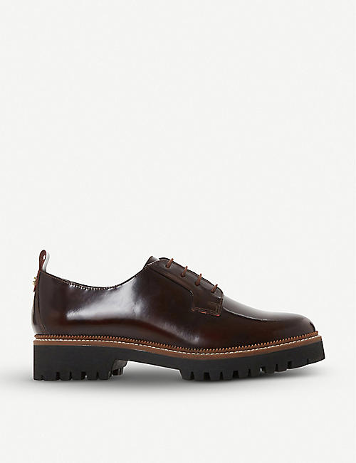 DUNE Fate lace-up leather brogues