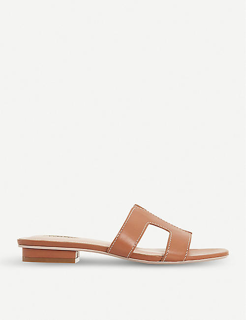 DUNE Loupe leather sandals