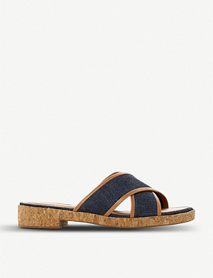 DUNE Lilianna canvas sandals