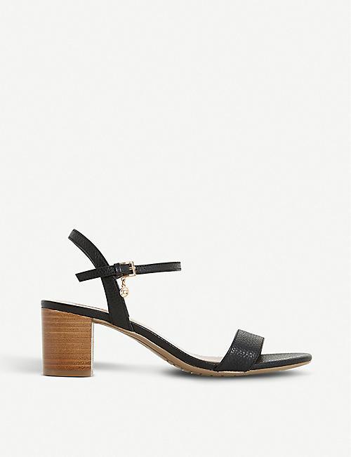 dd5990d404d DUNE Jiggle leather block-heeled sandals