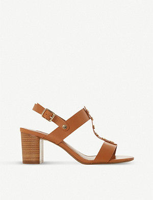 DUNE Jerrys stud trim leather sandals