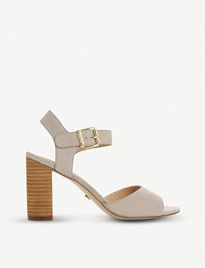 c6ab9ec00fb DUNE - Mystick patent mid-heel sandals