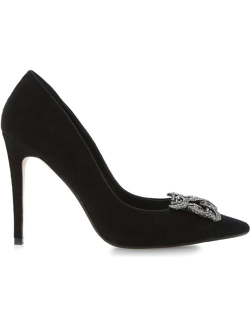 ed45005fa DUNE - Breanna jewelled court shoes