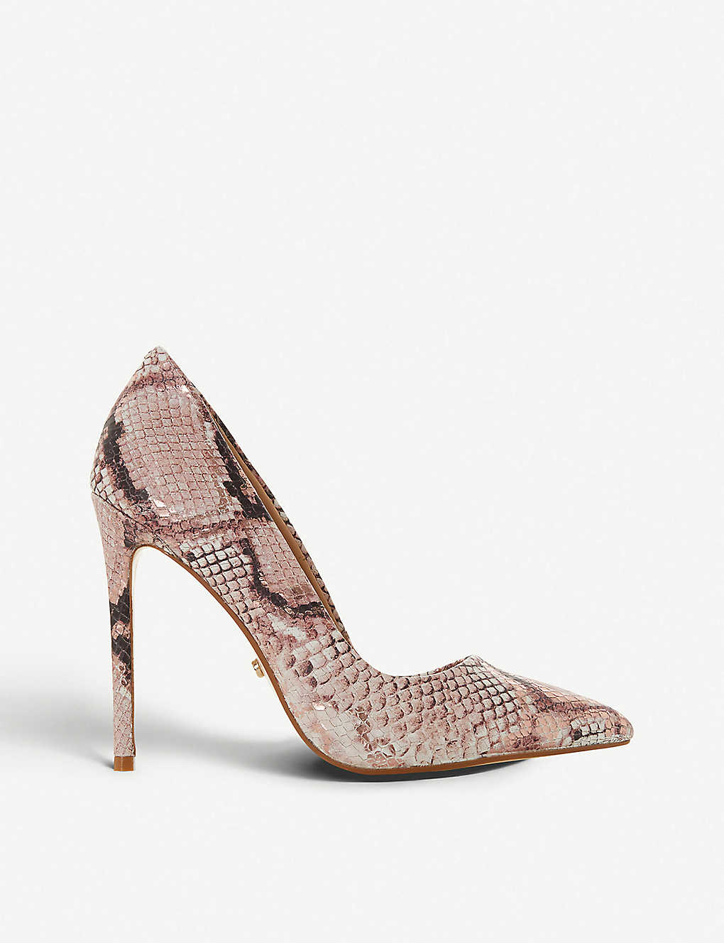 a8fbb7f171a Banksy snake-print pointed-toe stiletto heels