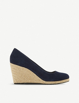 DUNE Annabella espadrille wedge sandals