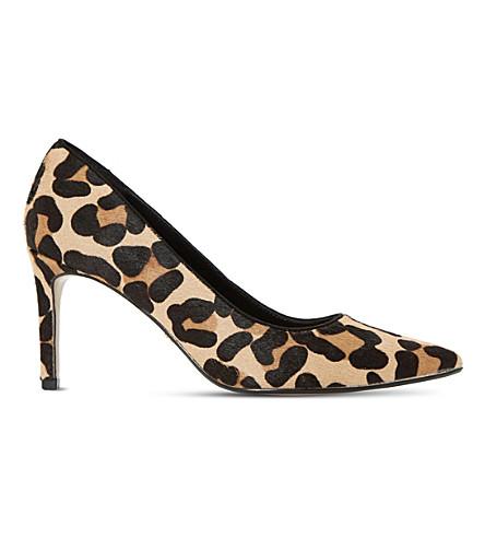 8fd6dff9f16 DUNE - Abbigail leopard-print court shoes