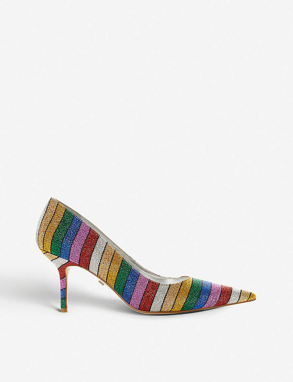 DUNE: Arainbow glitter court shoes